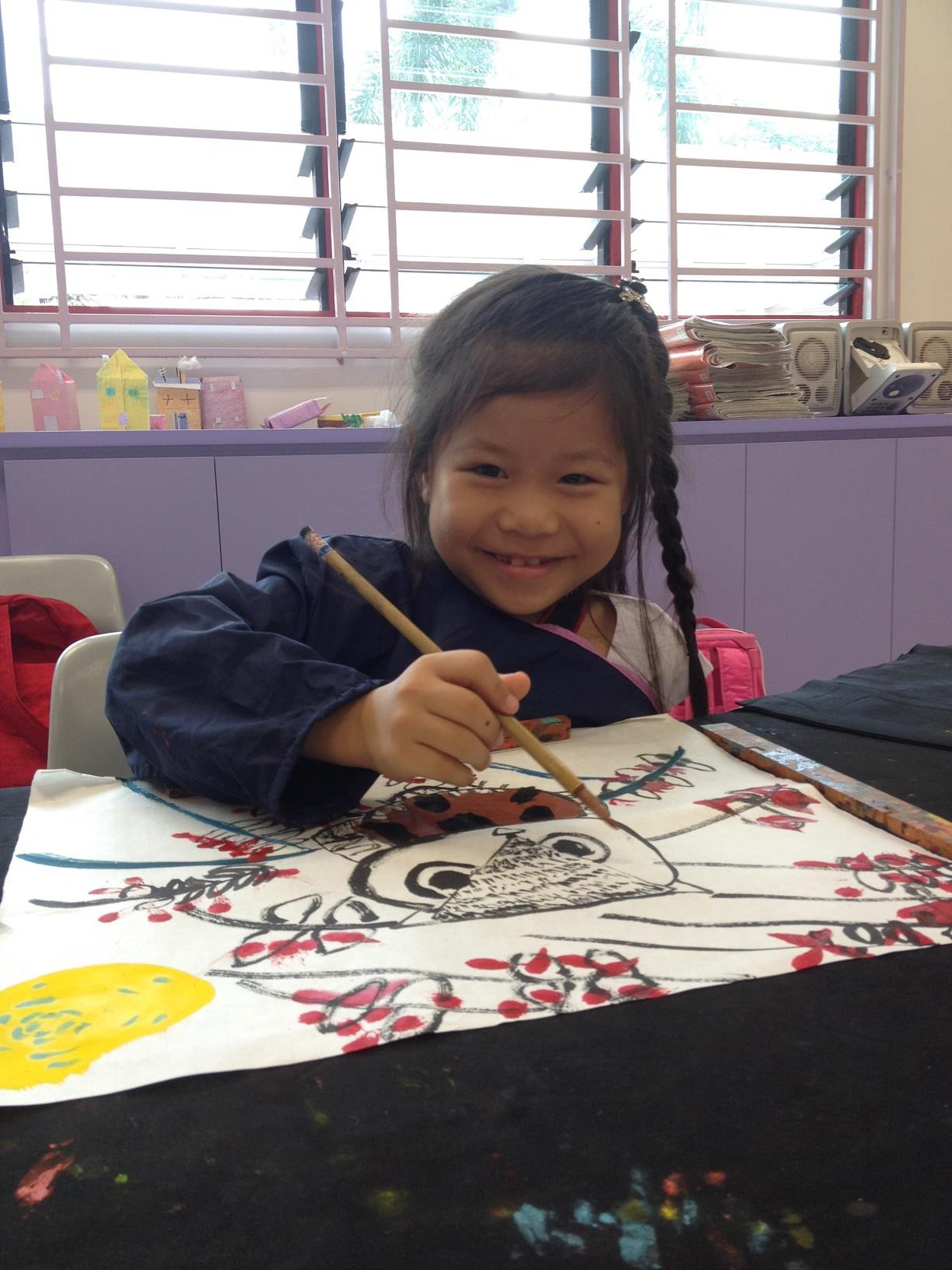 Calligraphy and Chinese Painting lesson.JPG